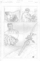 Skull & Bones #3 p.17 - Satellite and Main Characters - Signed Comic Art