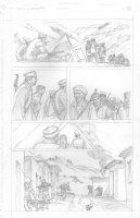 Skull & Bones #3 p.21 - Afghanistan - Signed Comic Art