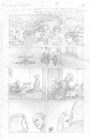 Skull & Bones #3 p.28 - Main Characters - Signed Comic Art