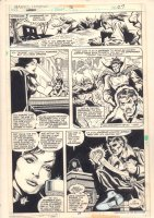 Marvel Team-Up #76 p.27 - Doctor Strange and Marie Laveau - 1979 Comic Art