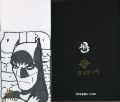 Brand New Limited Edition Self Published English/Japanese Comic: BATTLE OF THE BIG TOY  #19 of 40 with Batman Sketch (Lot G) Comic Art