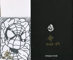 Brand New Limited Edition Self Published English/Japanese Comic: BATTLE OF THE BIG TOY  #25 of 40 with Spiderman Sketch (Lot N) Comic Art