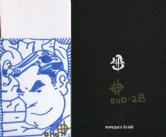 Brand New Limited Edition Self Published English/Japanese Comic: BATTLE OF THE BIG TOY  #28 of 40 with Superman Sketch (Lot Q) Comic Art