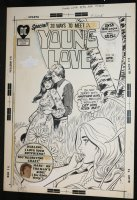 Young Love #94 Cover - DC Romance - 1972  Comic Art