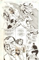 The Power of SHAZAM! #45 p.21 - Green Lantern, Wonder Woman, Martian Manhunter, Orion, & Black Adam - 1999 Comic Art