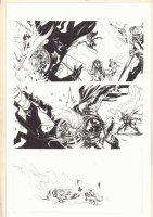 Avengers Annual #1 p.25 - Thor & Spider-Man - 2012 Comic Art