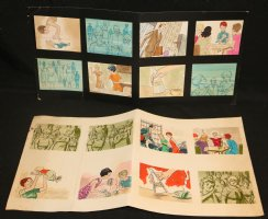 Sweeta Commercial Storyboard with 16 Color Illos - LA - 1960's Comic Art