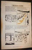 Classics Illustrated Special Issue #167A - Prehistoric World - LA - The Stone Builders - 1962 Comic Art