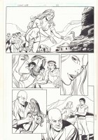 The White Viper Week 17 p.83 - Babe with Snake - 2011 Comic Art