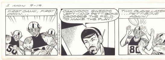 Gil Thorp Strip - Football - 1 Mon 9/19  Comic Art
