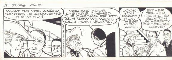 Gil Thorp Strip - Football - 2 Tues 8/9  Comic Art