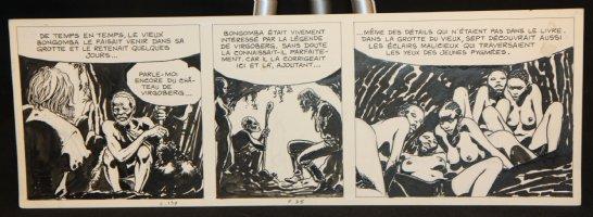 Italian Strip with 5 Nudes  Comic Art