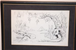 Andy Panda & Oswald the Rabbit ,Walter Lantz Comic Art