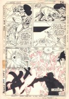 Justice League of America #236 p.21 - Gypsy Action - 1985 Comic Art