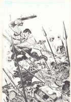 Army of Darkness / Xena: Forever... and a Day #1 Cover - Dynamite Entertainment - 2016 Signed Comic Art