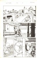 Cable & Deadpool #33 p.15 - Cable + Domino - 2008 Signed Comic Art