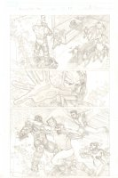 Amazing Spider-Man, The #661 p.17 - The Kids of Avengers Academy & Spidey vs. Psycho-Man - 2011 Signed Comic Art