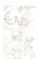 Amazing Spider-Man, The #661 p.18 - The Kids of Avengers Academy & Spidey vs. Psycho-Man - 2011 Signed Comic Art