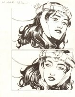 Avengers Vs. X-Men: Infinite #3 Digital Comic Page - All Scarlet Witch - 2012 Signed Comic Art