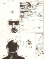 Avengers Vs. X-Men: Infinite #3 Digital Comic Page - Thor vs. Phoenix Five Cyclops - 2012 Signed  Comic Art