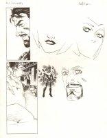 Avengers Vs. X-Men: Infinite #3 Digital Comic Page - Tony Stark and Phoenix Five Cyclops - 2012 Signed Comic Art