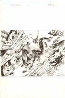 Avengers Vs. X-Men: Infinite #3 Digital Comic Page - Awesome Wolverine vs. Phoenix Five Cyclops - 2012 Signed Comic Art