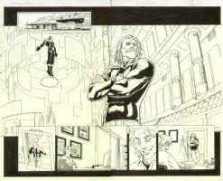 Cable & Deadpool #28 pgs. 9 & 10 DPS Comic Art