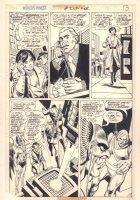 World's Finest Comics #209 p.10 - Hawkman - 1972 Comic Art