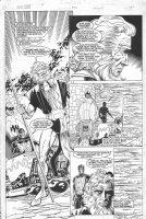 New Gods #21 p.4 - Highfather & Metron 1/2 Splash - 1990 Comic Art