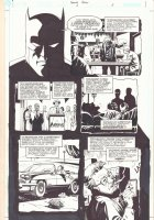 Batman: Family #6 p.5 - Great Batman Portrait - 2003 Comic Art