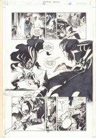 Batman: Family #8 p.25 - Huntress vs. Spoiler - 2003 Comic Art