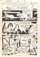 Defenders #151 p.7 - Beast, Valkyrie, Angel, Iceman, and Others - 1986 Comic Art