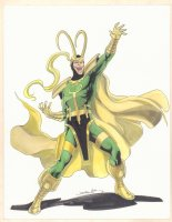 Loki Color Commission - Signed Comic Art